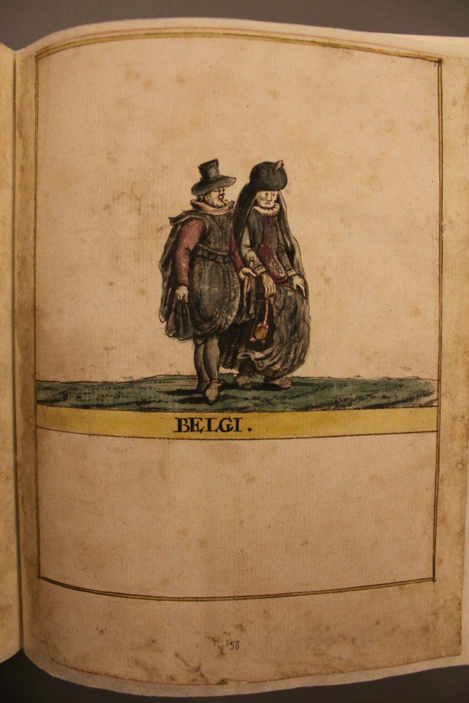 Belgar, teikning Sæmundar Hólm